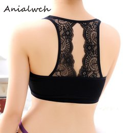 a35a34d5eb Spring modle sports lace beauty strap chest pads bottoming up bra strapless  gather the chest sexy bandeau bras B002