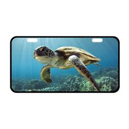 $enCountryForm.capitalKeyWord UK - Waterproof Sea Turtle Car Plate with HD image