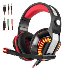 $enCountryForm.capitalKeyWord UK - Beexcellent GM-2 Gaming Headset for PS4 Xbox PC Tablet Laptop Over Ear Noise Cancelling Headphones With Microphone LED Light