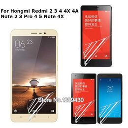 Hongmi redmi note online shopping - 2x For Hongmi Redmi X A Note Pro Note X A Pro Matte High Clear Matte Glossy Screen Protector Protective Film