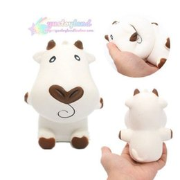 $enCountryForm.capitalKeyWord NZ - Squishy Cow Milk Scented Fragrance Toy Relaxation Slow Rising Milch Dairy Cattle kawaii Gift Jumbo Squishies Animals Free Shipping SQU009