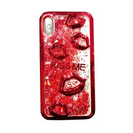 $enCountryForm.capitalKeyWord UK - Mobile phone case personality lip color quicksand mobile phone case flash powder 6s soft glue i8 electroplated soft cover anti-fall