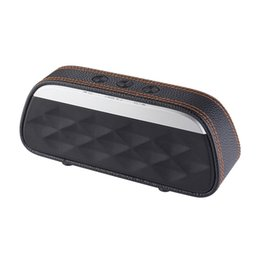$enCountryForm.capitalKeyWord Australia - Bluetooth speaker Good sound high-end leather Home Theater portable wireless Speaker Super Bass Stereo Portable Car Speaker
