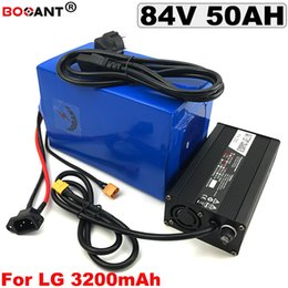 Motor Bicycles Australia - Electric Bicycle Battery 84V 50AH E-bike Lithium Battery pack for Bafang BBSHD 3000W 5000W 7000W Motor +5A Charger Free Shipping