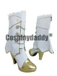 Chinese Love Live! Eli Ayase Minami Sonoda Umi Cosplay Wedding White Shoes  manufacturers 49c3179ca19a