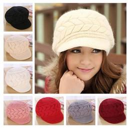 cb4a56fba9b 2018 New fashion Keep warm Winter hats han edition tide female cute knitted  hat Rabbit fur cap qiu dong the day ladies fashion hat