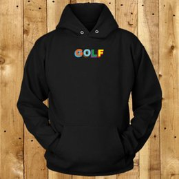 25ef2a1ef639 Golf Wang Canada - Color 3D Golf Wang Logo Men s Black Hoodie