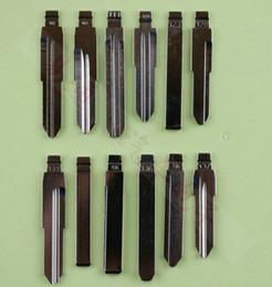 Blade Key Australia - 12Pcs Lot Folding key blade Full Types Car embryo replacing the key head Remote Key Blade Slot Type B NO 121-140