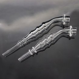 $enCountryForm.capitalKeyWord NZ - Hot Quartz Travel Straw Quartz Nail with quartz Filter Tips Tester Tube Glass Water Pipes Smoking Accessories Dab Straw