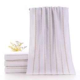 4 serviettes en coton pur de haute qualité lavages domestiques, lavages doux, grande serviette coton épais, gros hommes femmes jeunesse livraison gratuite