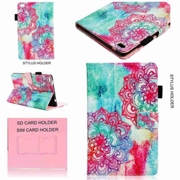 China Wallet Leather Australia - PU Leather Cover For Lenovo Tab4 8 TB-8504F TB-8504N 8504X Tablet Case With Magnetic Smart Wallet Case Coque+Stylus Pen+Film.