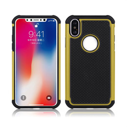 $enCountryForm.capitalKeyWord NZ - For phone X Hybrid Case Rugged Impact Rubber Matte Shockproof Heavy Hard Case for phone 5 6s 6plus 7plus SCA426