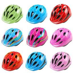 Men Cycling Helmets Australia - Ultralight Children Helmet Adjustable Bike Cycling Helmets with Light Size 59-69 Bicycle Helmet Kids Bike #3O19