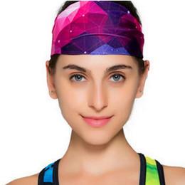 $enCountryForm.capitalKeyWord UK - Sports Yoga Headband Run Dacing Bodybuilding Riding Headbands Assimilate Sweat Breathable Quick-Drying Wrap Sport Exercises Outdoor Headwea