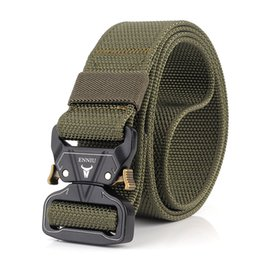 Inner Belt Australia - Cobra Deduction Outside Training Tactical Nylon Belt with Heavy-Duty Quick-Release Metal Buckle Webbing Riggers Web Belt Christmas Gifts