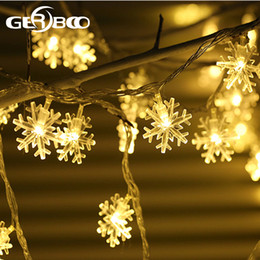 Outdoor snowflake string lights australia new featured outdoor outdoor solar string lights patio 30 led garden snowflake light solar fairy light christmas garland garden party decor aloadofball Images