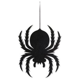 In Black Halloween 20pcs Plastic Spider Trick Toy Party Halloween Haunted House Prop Decor To Have Fun With Friends Drop Shipping Fashionable Style;