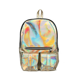 b65466ed4efc Reflective backpacks online shopping - Backpack Women Glitter Laser Tote  Bag Fashion Shopping Backpack Reflective Europe