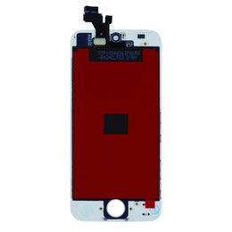 Chinese  High Quality Tianma Glass For iPhone 5 5G 5C 5S Black & White LCD Display With Touch Screen Digitizer & Free DHL Shipping manufacturers