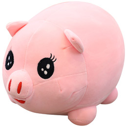 naughty doll 2021 - pop naughty pig plush doll big soft stuffed fat pink piggy round pigs toy animals pillow for children gift 28inch 70cm DY50316