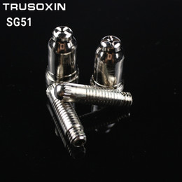 air cutter 2019 - 20pcs SG51 Consumables(50 tps+50 electrodes) for 60a inverter DC Air Plasma Cutter Accessories for SG51 cutting torch gu
