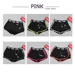 Love PINK Tracksuit Women Shorts Брюки Спортивные костюмы Нарядная печать Письмо Короткие штаны Топы Спортивные костюмы Lady Secret Shorts Тренажеры