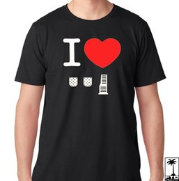 $enCountryForm.capitalKeyWord Australia - JDM I Love Heart Stick Shift 5 6 Speed Clutch Brakes Gas pedals Type R T Shirt Unisex Funny free shipping gift Casual tee