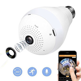 Camera Detection System Australia - 360°Panoramic Fisheye Wifi Home Security System with 960P HD Motion Detection and Dimmable Mini CCTV VR Camera 1.3MP Remoted Home Security