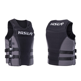 Professional Life Jacket Vest Adult Buoyancy Lifejacket Protection Waistcoat for Men Women Swimming Fishing Rafting Surfing на Распродаже