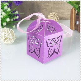 $enCountryForm.capitalKeyWord Australia - 50pcs Christmas Butterfly Decoration Candy Box Anniversary Party Gift Box Wedding Party Candy Box Baby Shower 6ZT29