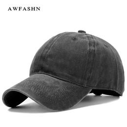 $enCountryForm.capitalKeyWord NZ - Retro baseball caps casual hats outdoor man woman vintage black solid fashion sport snapback bone dad hat unisex gorras