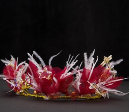 $enCountryForm.capitalKeyWord NZ - Korean feathered headwear, bride hair, sweet, smart hair accessories, bridal bride accessories wedding dress accessories