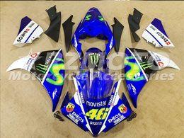 $enCountryForm.capitalKeyWord Canada - 3 Free Gifts New motorcycle Fairings Kits For YAMAHA YZF-R1 2013-2014 R1 13-14 YZF1000 bodywork hot sales loves Blue B73
