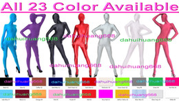 Xl Full Body Suits Australia - Unisex Full Bodysuit Costumes Outfit New 24 Color Lycra Spandex Suit Catsuit Costumes Unisex Sexy Body Suit Halloween Cosplay Costumes DH038