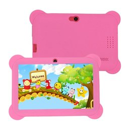 $enCountryForm.capitalKeyWord NZ - Q88 AU Plug Children Tablet 7-Inch Touch Screen 512MB+8GB Kids Pad Students Learning Tablet With Hi-Fi Stereo Speaker