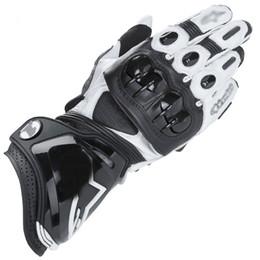 Новое прибытие GP Pro мотоцикл перчатки Moto GP-1 гоночная команда вождения перчатки из натуральной кожи мотоцикл коровьей перчатки