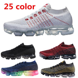 2018 New Vapormax Mens Running Shoes For Men Sneakers Women Fashion  Athletic Sport Shoe Hot Corss Hiking Jogging Walking 849558-006 849557 9e5b6f710