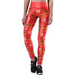 $enCountryForm.capitalKeyWord Canada - Sexy Women Halloween Print Sports Running Pants Stretch Leggings High Waist Skinny Sport Elasticity Yoga Pants Athletic Trouser