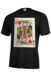 $enCountryForm.capitalKeyWord UK - King Of Heart T-shirt Queen of heart T-shirts Adult,Long Sleeve,Tank Top S-5XL Funny free shipping Unisex Casual gift