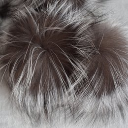 $enCountryForm.capitalKeyWord Australia - 2017 Hot Sale Women Adult Casual Beanie Big Genuine Real Fox Pompom Pom Poms Hair Accessories Pompon Ball For Shoes Hats Bags
