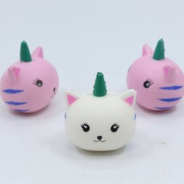 Wholesale Kawaii Unicorn Squishy Toys Super Slow Rising Charm Squishies Bread Squeeze Bun Kid Jumbo toy Simulation Sheep PU Foam Doll sr Y