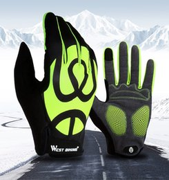 Road Bicycle Gloves Australia - Cycling Gloves Full Finger Touch Screen Bicycle Gloves Windproof Silica Gel Anti-slip Men Women MTB Road Bike Gloves Accessories