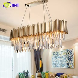 Wholesale Luxury crystal chandelier gold shine living room lamp hotel decoration can be customized size