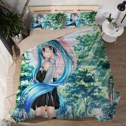 twins girls Canada - Beautiful girl bedding sets fashion Good quality soft cartoon duvet cover sets pillowcase twin full queen king size bedclothes