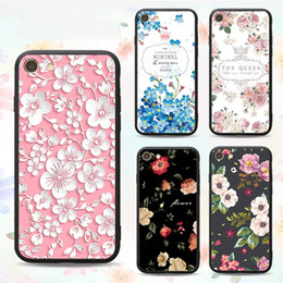 $enCountryForm.capitalKeyWord Canada - 3D TPU PC Floral Relief Painted Phone Case Skin For iPhone X 8 7 6 6S Plus 5S SE Samsung Galaxy S7 Edge S8 S9 Plus Note 8 Back iphone Cover