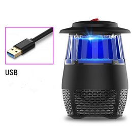 Großhandel 711TEK Moaquito-Mörder, USB angetriebener ungiftiger UV-LED-Insekten-Mörder, elektronische Moskito-Falle-Lampe, Wanzen-Zapper mit umweltfreundlichem für Innen-U