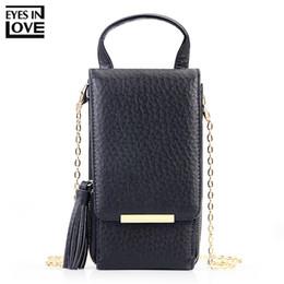 EYES IN LOVE Brand 2018 New Tassel Zipper Mini Shoulder Bags For Women Lady  Messenger Phone Bag Card Holder Small Handbag Purses 13d2d7a5325d4