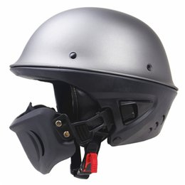 $enCountryForm.capitalKeyWord UK - Zombies Racing Rouge Helmet DOT approved moto helmet With Detachable mask design good looking and safety open face