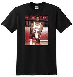 Len Bias T Shirt Maryland Terapins Basketballer Small Medium Large oder Xl Fashion T-Shirts Slim Fit O Hals im Angebot
