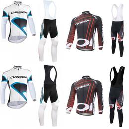 orbea bike cycling long 2019 - ORBEA team Cycling long Sleeves jersey (bib) pants sets Bicycle Sports Wear Quick-Dry MTB Bike clothing c3024 discount o